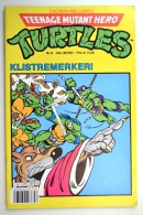 Teenage mutant hero turtles nr. 8 - 1991