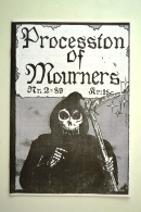 Procession of mourners nr. 2 - 1989